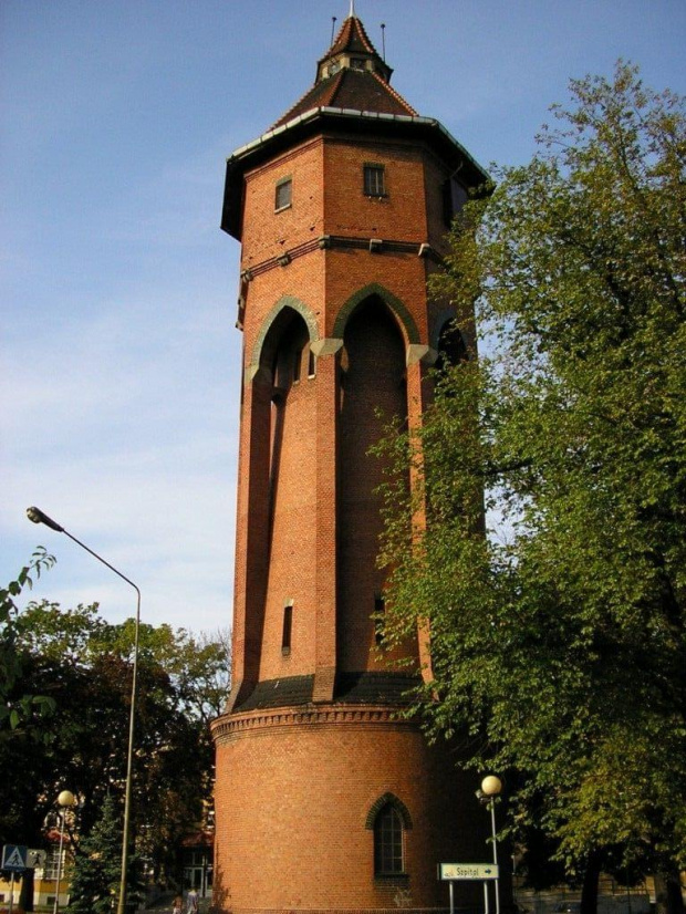 Wieża cisnień w Środzie Wielkopolskiej #wieża