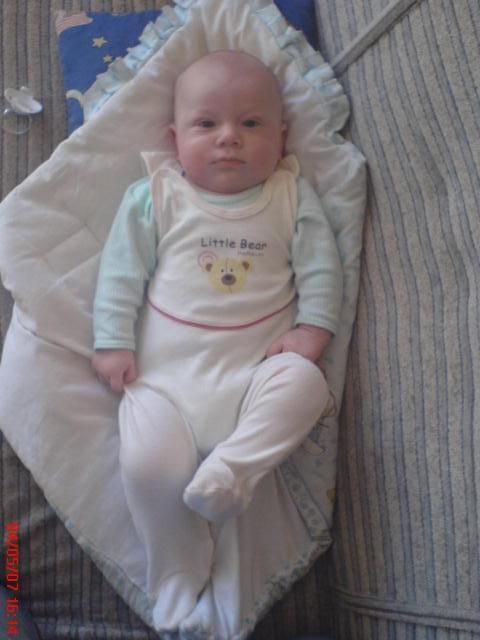 mam 5 miesięcy, ale juz jestem duży:D
