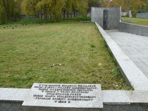 ul. Gibalskiego - obok cmentarza masowe groby zmarlych w gettcie #Cmentarz