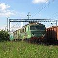 19.05.2008 ET41-001 podczas postoju z ET22 w Kostrzynie na KoB. #Kostrzyn #ET41