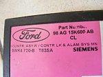 Ford Focus -centralny zamek