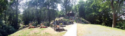 Sławno cmentarz panorama #cmentarz