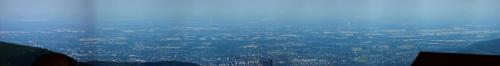 Widok ze Skrzycznego na Bielsko-Białą #skrzyczne #beskid #panorama #krajobraz
