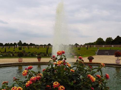 Ogrod prywatny #Hampton #Londyn #Tudor