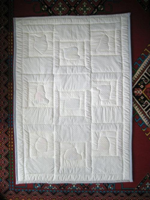 kołderka - tył #patchwork