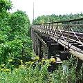 Most kolejowy nad Jeziorem Pilchowickim #rower #DolinaBobru #JezioroPilchowickie #zapora #tama #MostKolejowy