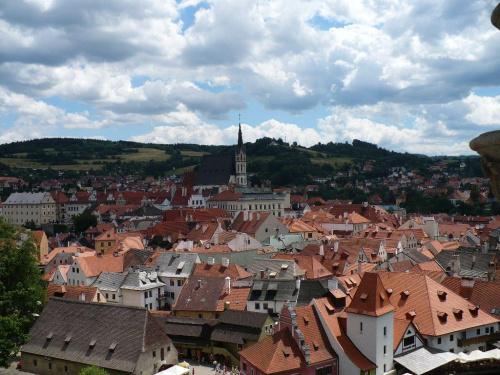Czeski Krumlow #widok #zabytki #miasto