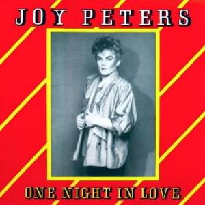Joy Peters - 1986 - One Night In Love