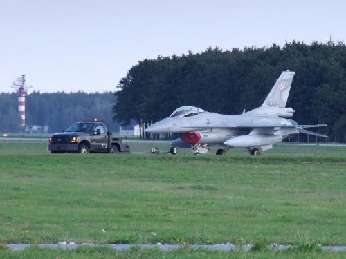 F-16 C, Poznań - Krzesiny, EPKS, 28.09.2008 #Poznań #Krzesiny #EPKS #samolot #samoloty