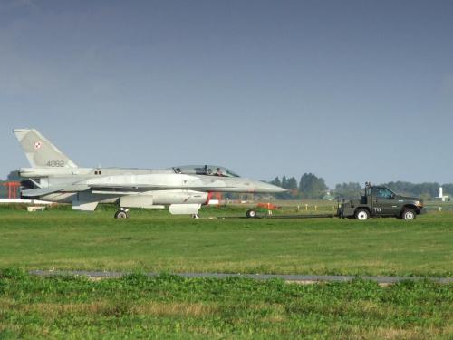 F-16 D, Poznań - Krzesiny, EPKS, 28.09.2008 #Poznań #Krzesiny #EPKS #samolot #samoloty