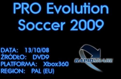  XBOX360  Pro Evolution Soccer 2009 (PAL) [RS][MU]