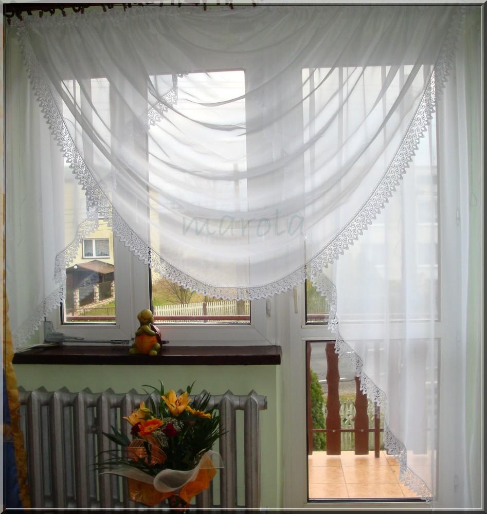 78 Nowa Firanka Na Balkon Gipiura Woda Na Bazarekpl