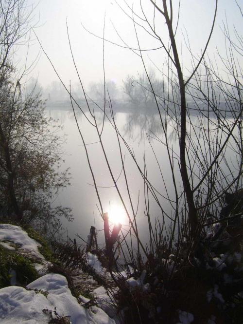 Arktyczne światło #Kraków #Wisła #zima #światło