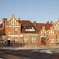 Dworzec kolejowy w Brodnicy, widok od ulicy Gajdy #Brodnica #Dworzec #Kolej