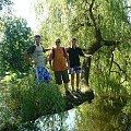 Ja mój brat i Qubuś :D na drzewie :D #Mudulinek #kuba #zamość